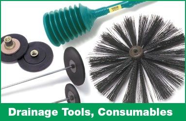 Drainage tools and consumables