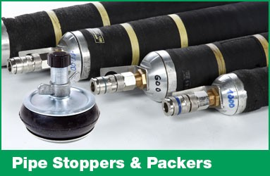 Pipe stoppers and packers