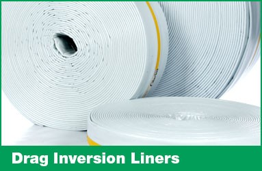 Drag inversion liners